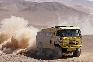 Žlutá tatra na Dakaru 2011