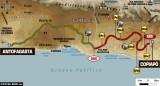 Rally Dakar 2011, 8.etapa - plán trasy