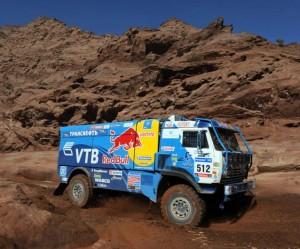 Dakar 2011 končí, vzhrá Čagin na vozu KAMAZ