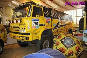 Závodní Liaz KM RACING teamu
