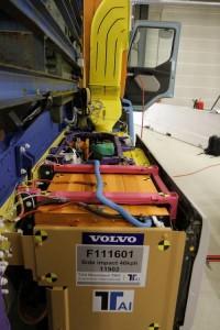 Volvo FE Hybrid - sada akumulátorů