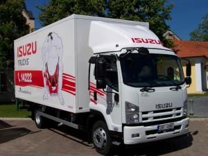 nová řada F nákladní vůz ISUZU