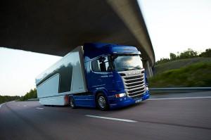 Scania G 420 s převodovkou Opticruise