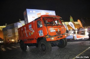 Poprvé na Rudém náměstí mezi automobilovou špičkou