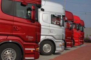 Tahače Scania připravené pro testování