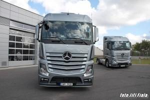 Nová tvář Mercedesu ACTROS